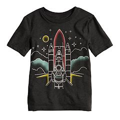 Boys 4-10 Jumping Beans® Rocket Astronaut Faded Graphic Tee