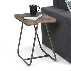 Simpli Home Hailey Narrow End Table