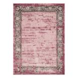 United Weavers Weathered Treasures Relic Framed Rug