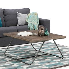 Simpli Home Hailey Square Coffee Table