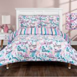 Grand Collection Bright Print Reversible Comforter Set
