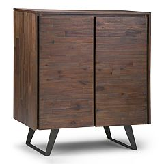 Simpli Home Lowry Medium Storage Cabinet