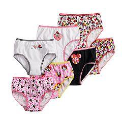 3314c8b2c537b Disney s Minnie Mouse Girl 4-8 7-pack Brief Panties