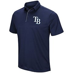 Men's Majestic Tampa Bay Rays Double Knit Polo Shirt