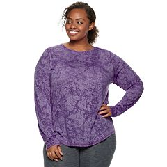 Plus Size Tek Gear® Long Sleeve Tee