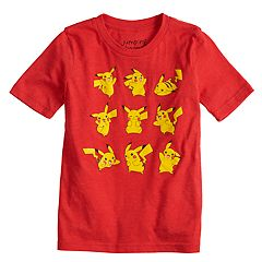 Boys 4-10 Jumping Beans® Pokemon Pikachu Poses Graphic Tee