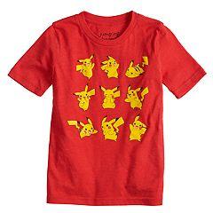 Boys 4-10 Jumping Beans® Pokemon Pikachu Poses Graphic Tee