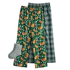 Boys 4-16 Football 2-Pack Lounge Pants & Socks