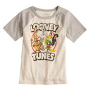 Boys 4-10 Jumping Beans® Looney Tunes Raglan Graphic Tee