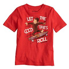 Boys 4-10 Jumping Beans® Curious George Graphic Tee
