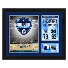 Villanova Wildcats 2018 National Champions Milestones & Memories Framed Wall Art