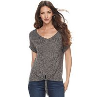 Women's Juicy Couture Tie-Front Tee