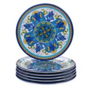 Certified International Lucca 6-piece Melamine Salad Plate Set