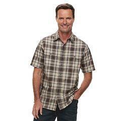 Men's Croft & Barrow® Classic-Fit Quick-Dry Outdoor Button-Down Shirt