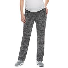 Maternity a:glow Ruched Belly Panel Straight-Leg Lounge Pants