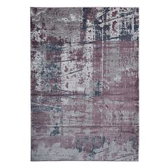 World Rug Gallery Portofino Contemporary Distressed Abstract Rug