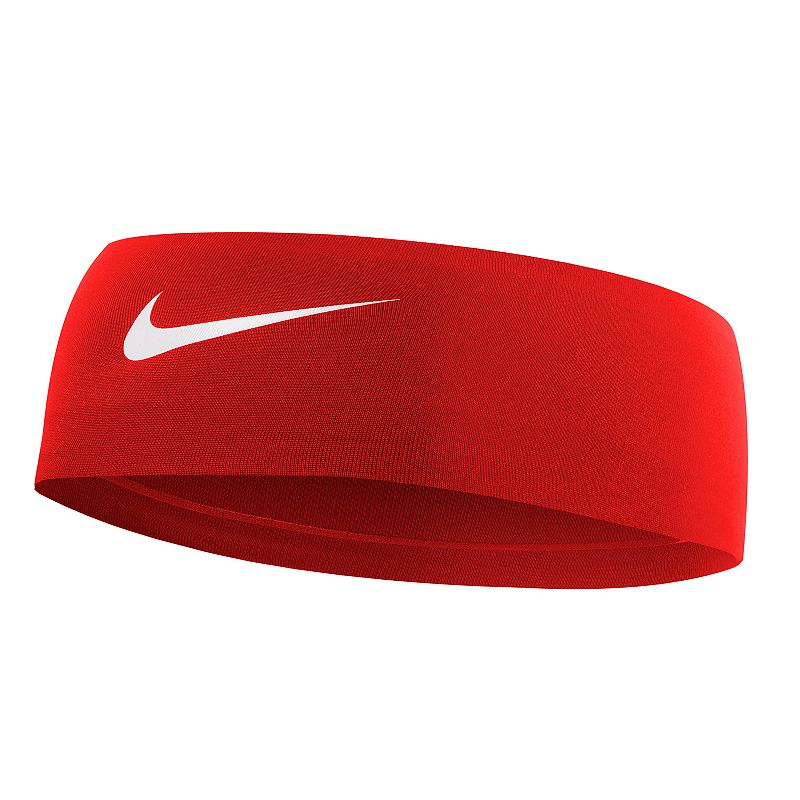 Nike Fury 2.0 Headband, Dark Red Keep your hair under control and the sweat off your brow with this classically styled Nike Fury headband. Dri-FIT moisture-wicking technology No-slip silicone grips Embossed swoosh logo FIT & SIZING 2.5-in. width 17.3-in. circumference FABRIC & CARE Polyester, spandex, silicone Machine wash Imported Size: One Size. Color: Dark Red. Gender: female. Age Group: adult.