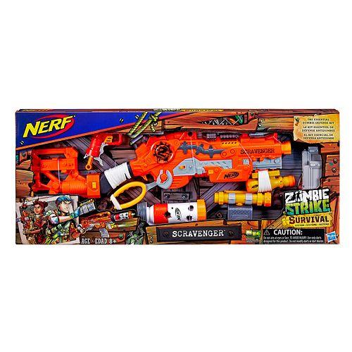 Nerf Zombie Strike Survival System Scravenger Kit
