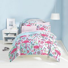 Dream Factory Flamingo Bed Set