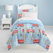 Dream Factory Fire Truck Bed Set
