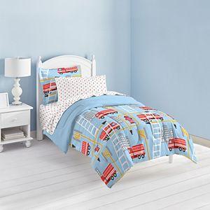 Dream Factory Fire Truck Bed Set