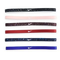 Women's Nike 6-Pack Solid & Printed Headband Set