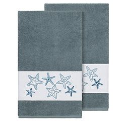 Linum Home Textiles Lydia Embellished Bath Towel Set