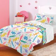 Dream Factory Candy Comforter Set