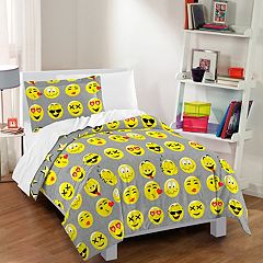 Dream Factory Emoji Comforter Set