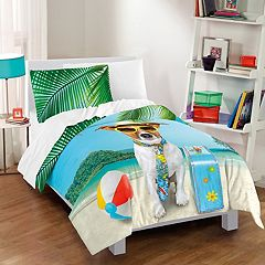 Dream Factory Ruff Getaway Comforter Set