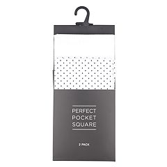 Men's 2-pack Pocket Squares
