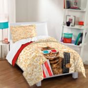 Dream Factory Movie Cat Comforter Set