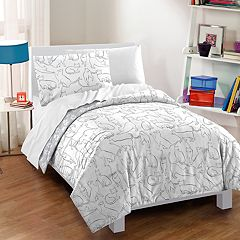 Dream Factory Cats Comforter Set