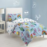 Dream Factory Peace & Lightning Comforter Set