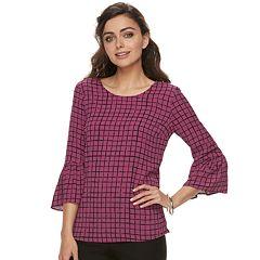 Women's ELLE™ Bell-Sleeve Top