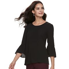 Women's ELLE™ Bell-Sleeve Top