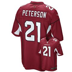 Men's Nike Arizona Cardinals Patrick Peterson Game NFL Replica Jersey