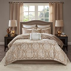 Madison Park Waylon 8-piece Jacquard Comforter Set