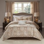Madison Park Waylon 6-piece Jacquard Duvet Cover Set