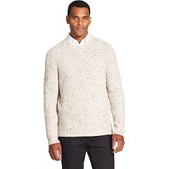 Men's Van Heusen Classic-Fit Textured Crewneck Sweater