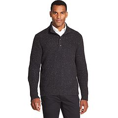 Men's Van Heusen Classic-Fit Textured Mockneck Sweater