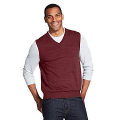 Men's Van Heusen Classic-Fit V-Neck Sweater Vest
