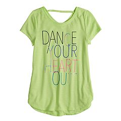 Girls 7-16 SO® Back-Strap Performance Tee