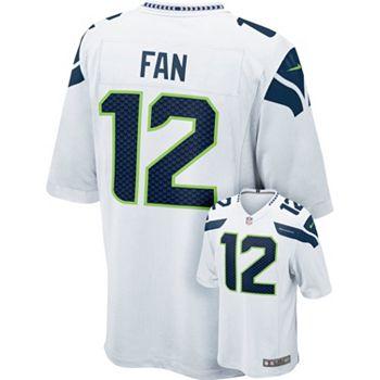 Men s Nike Seattle Seahawks Fan Game NFL Replica Jersey 10c5f73e1