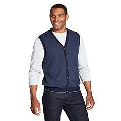 Men's Van Heusen Classic-Fit Button-Front Sweater Vest