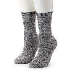 Women's Columbia 2-Pack Marled Crew Socks