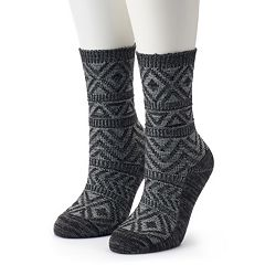 Women's Columbia 2-Pack Textured Crew Socks
