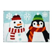 St. Nicholas Square® Holiday Cheer Holiday Friends Bath Rug