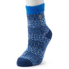 Women's Columbia Patchwork Thermal Crew Socks