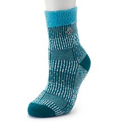 Women's Columbia Patchwork Thermal Crew Socks